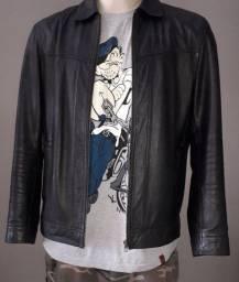 Jaqueta de couro masculina  Tam. M