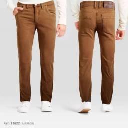calças de brim masculinas