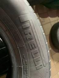 Pneus Aro 14 - 185-70 Pirelli - Motando e Instalado (JOGO)