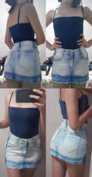 Shorts e saias novos sem marca de uso 10 reais