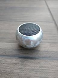Mini speaker bluetooth 3W USB prata