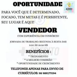 VENDEDOR DE CONSÓRCIO