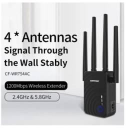 Repetidor/roteador/ponto de acesso 5.8ghz amplificador de sinal