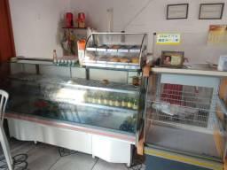Área de venda mini padaria e mercearia