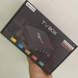 TV Box MXQ Pro 4k Novo - 64GB e 4GB de RAM