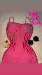 Vestido alcinha com bojo apenas $50