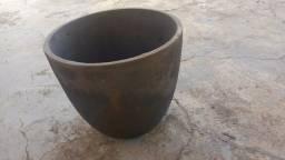 Cadinho/Panela de ferro para fundição de alumínio