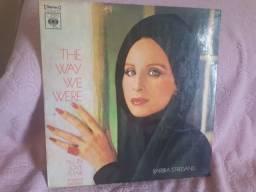 Disco de vinil- Barbra Streisand- The Way We Were.  1974. + brinde