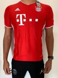 Bayern de Munique - Munchen - Camisa Uniforme 2020/2021
