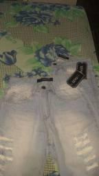 Bermuda jeans tamanho 36