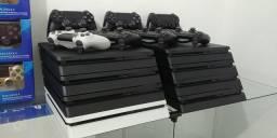 Playstation 4 Ps4 Slim 500GB Preto / Troco / Parcelo