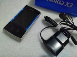 Nokia X3-00 N O V O Xpressmusic ( radio funciona sem fone )