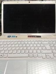 Notebook Sony Vaio tela 15' processador I3, 8gb de memoria ram, HD 1TB