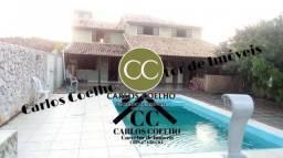 W *Cód 67 Casa lado praia com 3 quartos (1 suíte), piscina e área gourmet