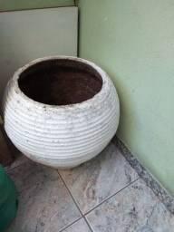 Vaso grande de barro