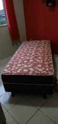 cama box solteiro Nova 300reais aceito cartão de crédito e débito