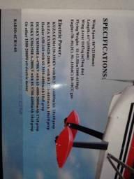 Aeromodelo Decathon 35RA COMPLETO GASOLINA