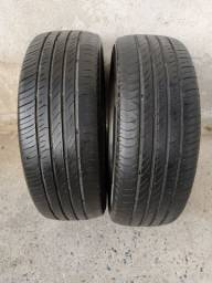 Par de pneus 195 55 16 continental ótimos