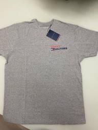 Camiseta Tommy cinza G