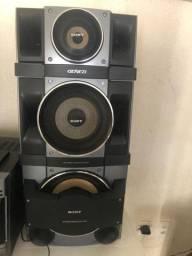 Mini System Sony 1100W Rms com Usb