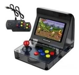 Mini Fliperama Retro Arcade 2 Controles 3000 Games Usb - Loja Natan Abreu