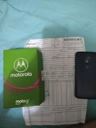 Moto G7 play aceito cartão