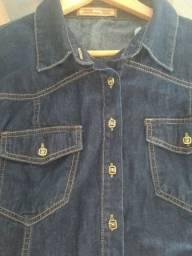 Casaco jeans novo