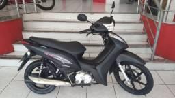 Honda Biz 125 Ex 2015/2015 preta fosca em perfeito estado Alvaro Motos