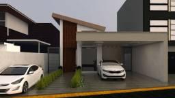Casa 3 Suítes piscina churrasqueira rua 3 condomínio Vicente Pires