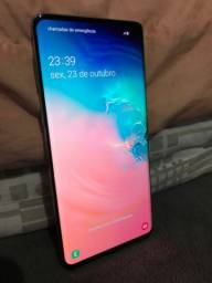 Samsung s10 mínimo trincado