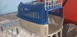 Caixa de transporte para gatos pequena