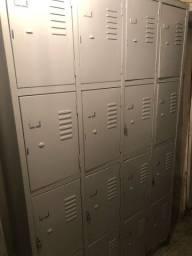 Armário de aço Vestiário 16 portas