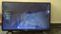 TV LG 28 polegas Led com a tela quebrada- Retira peças