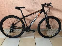 Bicicleta 29 com freio hidráulico 24v com nota fiscal