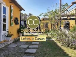 W 609 Vendo 2 lindas Casas Rústicas em Unamar - Tamoios - Cabo Frio/RJ