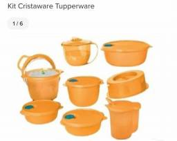 Kit cristalware tupperware