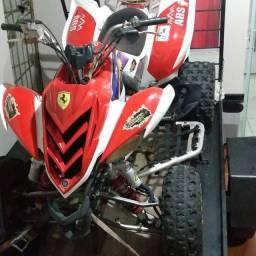 Vendo um Quadriciculo Raptor 700 r 2009