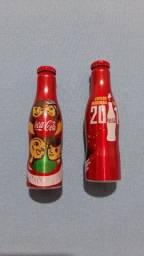 Garrafas da coca cola coleções