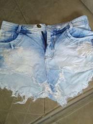 Short jeans novíssimo da Elly