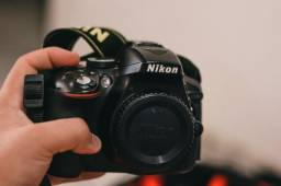 Nikon D5300 + 18-55mm + Lente 35mm.1.8 AF-S