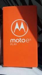 Moto e 6 play Ben conservado com nota e tudo