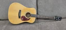 Raríssimo! Violão Epiphone PR350 Korea 1989 headstock Gibson