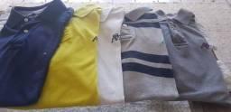 Camisas Tommy e Aeropostale R$ 160 todas