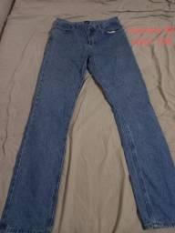 Calças compridas jeans