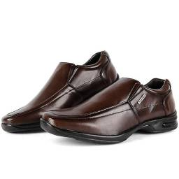 Sapato Social Marrom Liso (Pagamento seguro OLX Pay)