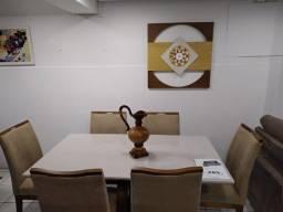 Sala de Jantar 6 lug. - Em 18x de R$ 193,00