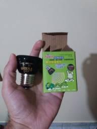 Lampada Cerâmica P/ Aquecimento - 25w 127v - (ideal para aves)