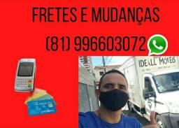 Frete mudança residencial Maceió Petrolina Salvador Fortaleza Natal Interior<br><br>