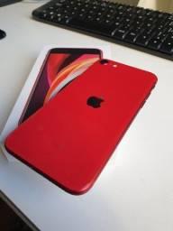 "IPhone SE 128GB NOVO ""Product RED"""