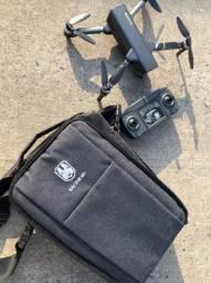 Drone Kai One Pro 4k 2 Baterias 1.2km Gimbal 3 Eixos Mod2021